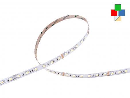 LED Stripe RGB(KW/WW) 24Vdc 19W/m 1.300lm/m 60LEDs/m 5-Kanal 4,0m 4,0m