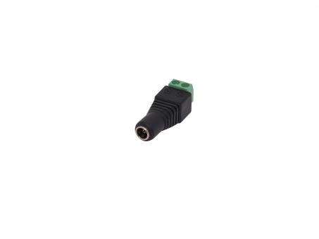 DC Buchse 5,5 / 2,1mm mit Klemmanschluss