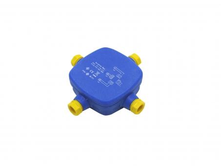 Verbindungsbox für Außenbereich 4-fach mit Lüsterklemme IP67