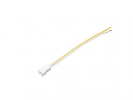 10cm Leitung XPA Buchse offenes Ende 2x0,5mm² Leitung weiß