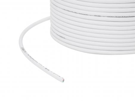 1m 3x 0,34mm² + 1x 0,5mm² 4-pol. RGB Kabel weiß Outdoor