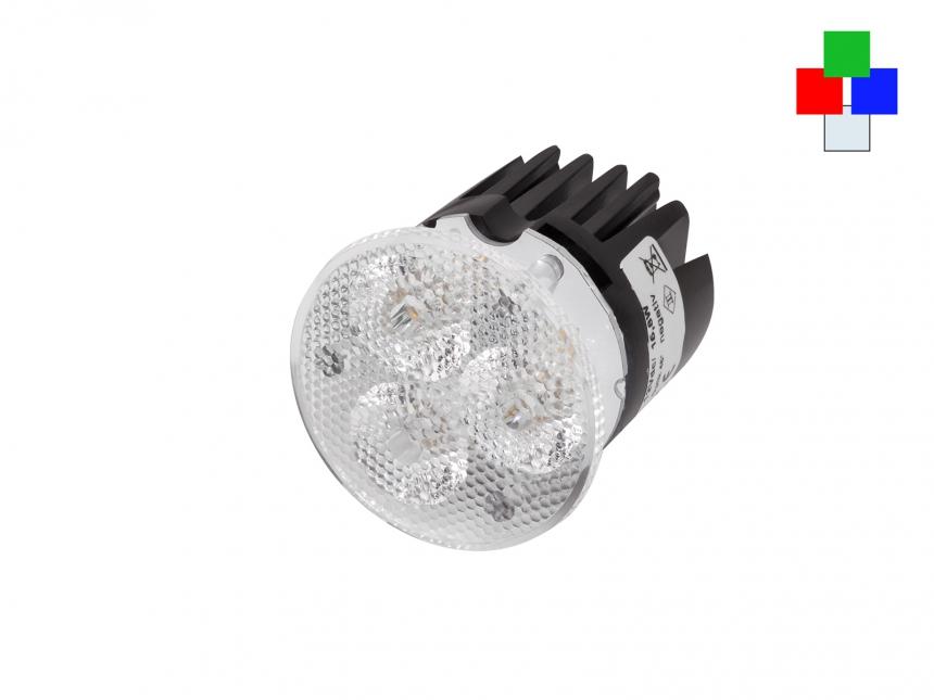 LED Spot Multicolor 12Vdc RGB-KW