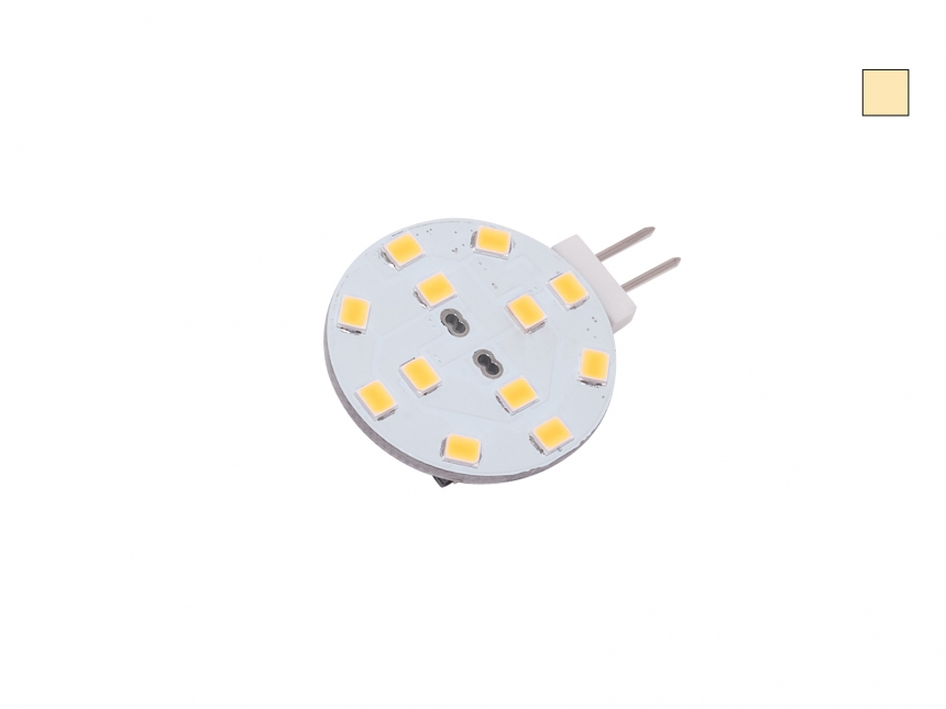 G4 LED dimmbar 12 LEDs 10-30Vdc warmweiß