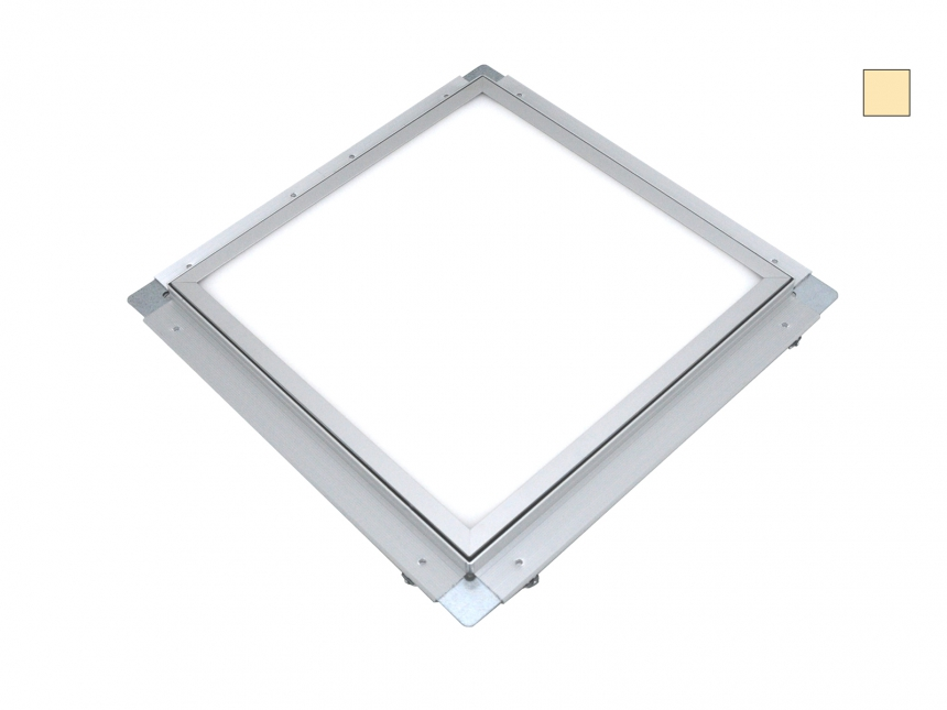 PUR-LED Panel-Light Frame 300 100-240Vac warmweiß