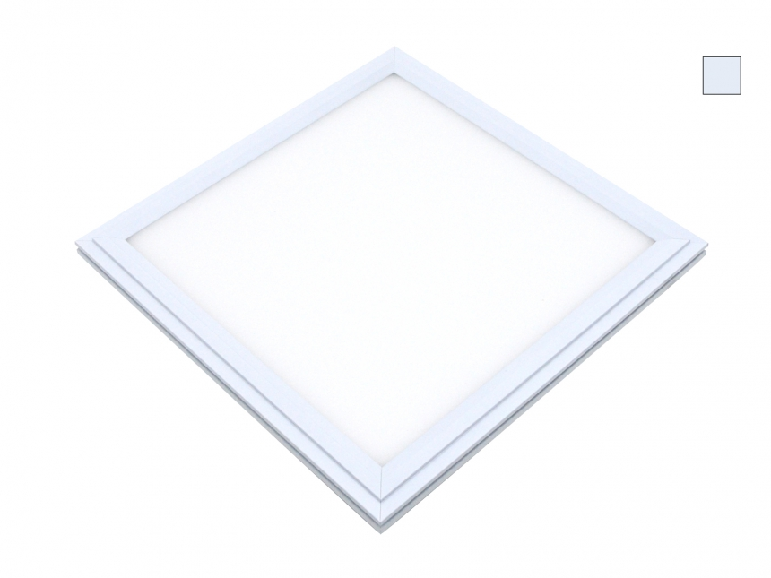 PUR-LED Panel-Light 619 100-240Vac kaltweiß