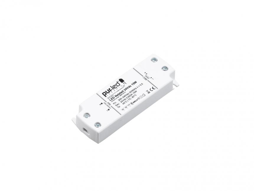 LED Netzteil 24Vdc 15W 0,62A Indoor