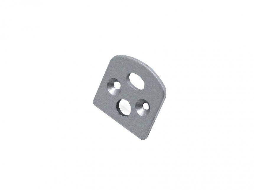 LED Endkappe LED Aluminiumprofil edge-line 3