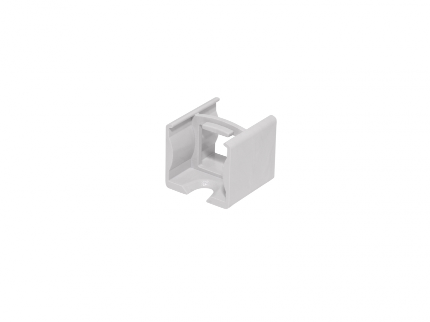 Verbinder für LED Alu U-Profil Slim 15mm Kunststoff