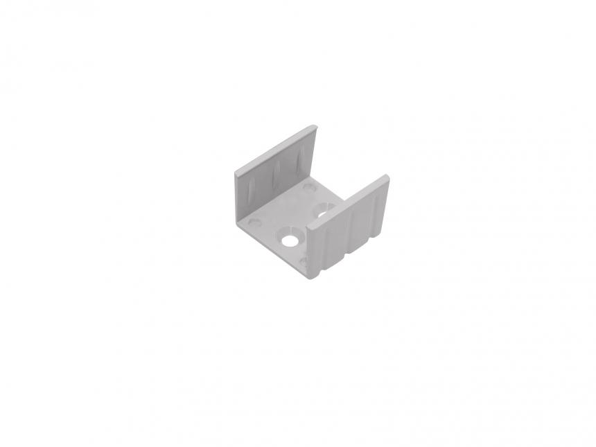 Montageklammer für LED Alu U-Profil Slim XL15mm Kunststoff