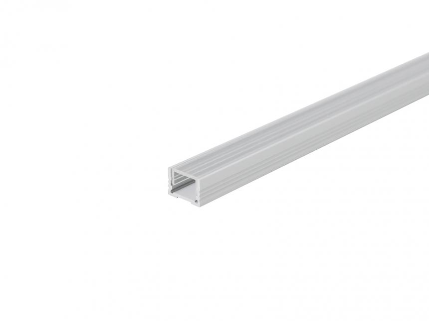 Alu U-Profil 13mm XXLine Classic si mit Abd 3,0m opalweiß