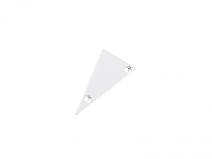 Endkappe links Alu-Voutenprofil XXLine ohne Kabeldurchgang weiß