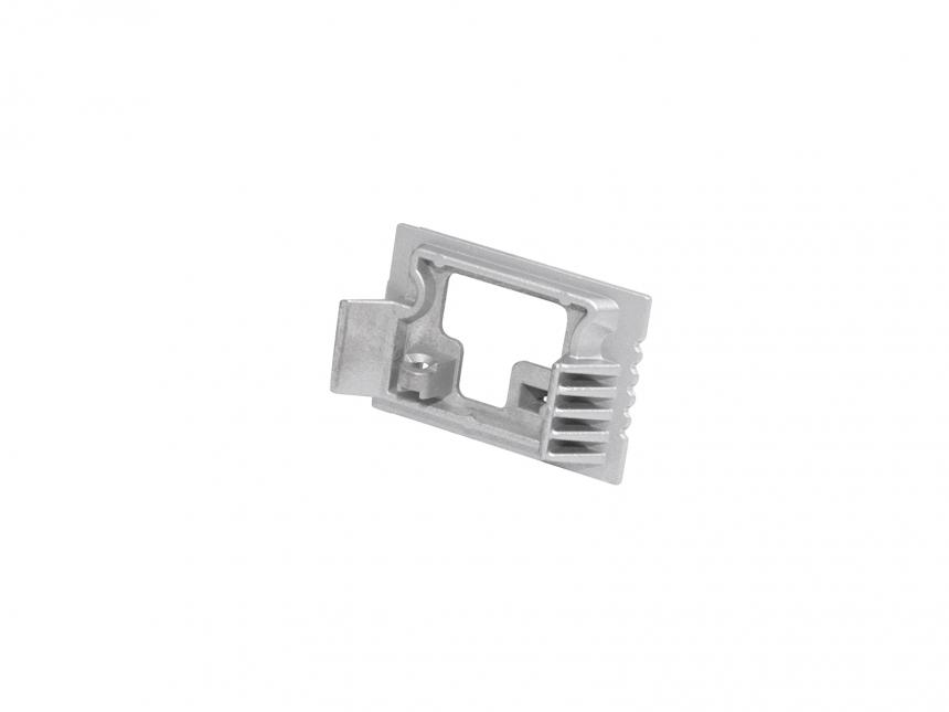 Verbinderstück 90° für LED Alu U-Profil 35mm Aluminium