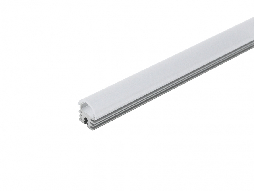 LED Alu Kühlprofil edge-line3 HP 2,0m transparent