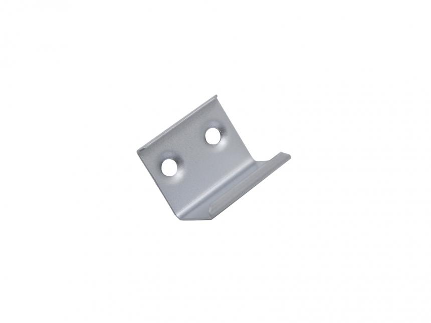 Montageklammer für LED Alu Profil 45-Grad, Aluminium
