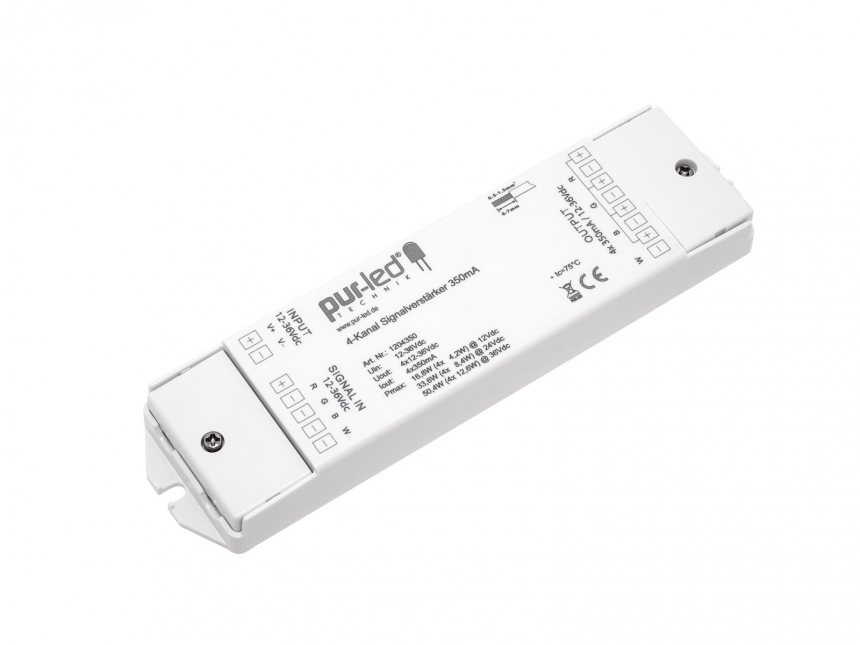 LED Booster RGBW+ 4x12-36Vdc 4x350mA