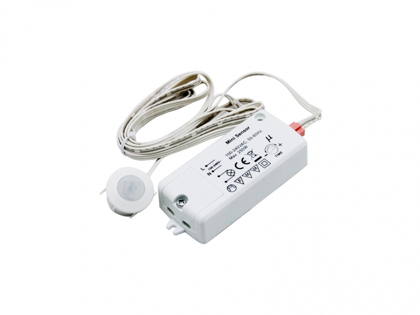 Bewegungsmelder Infrarot inkl. Sensor 100-240Vac 250W