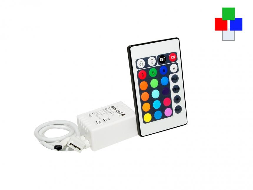 Easylight 3 Set: 12/24Vdc/3x2A IR-Controller + Fernbedienung