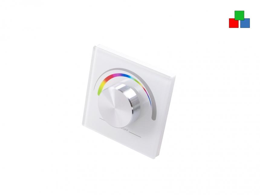 TRELIGHT Vega RGB LED Funk Wandsteuerung Lifestyle weiß