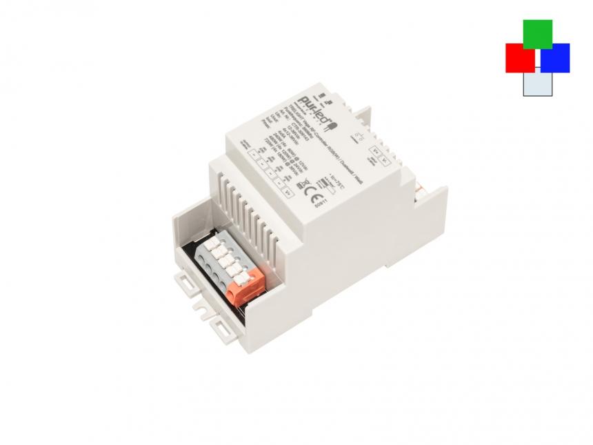 LED Controller TRELIGHT Vega RGBW 12-36Vdc/4x5A DIN Hutschiene