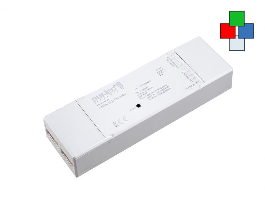 ZigBee LED Controller RGB(W) 12-36Vdc 4x5A CV