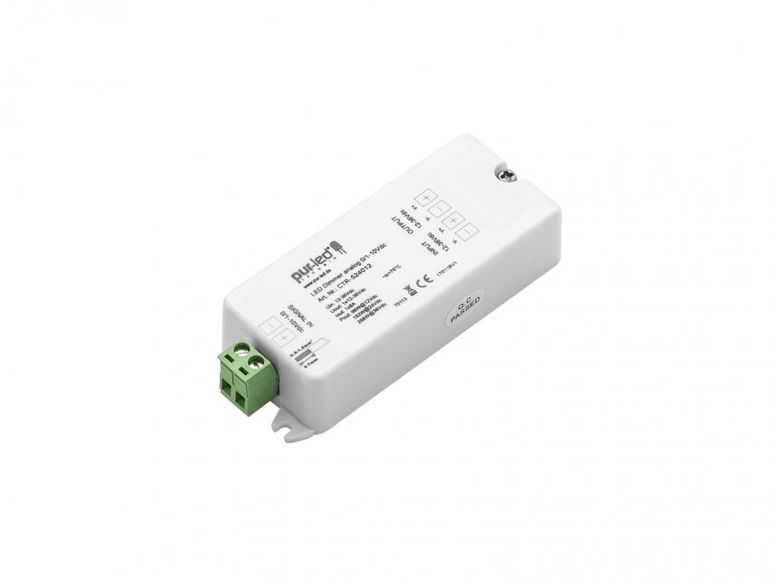 LED Dimmer analog 1-10Vdc 12-36Vdc 1x8A