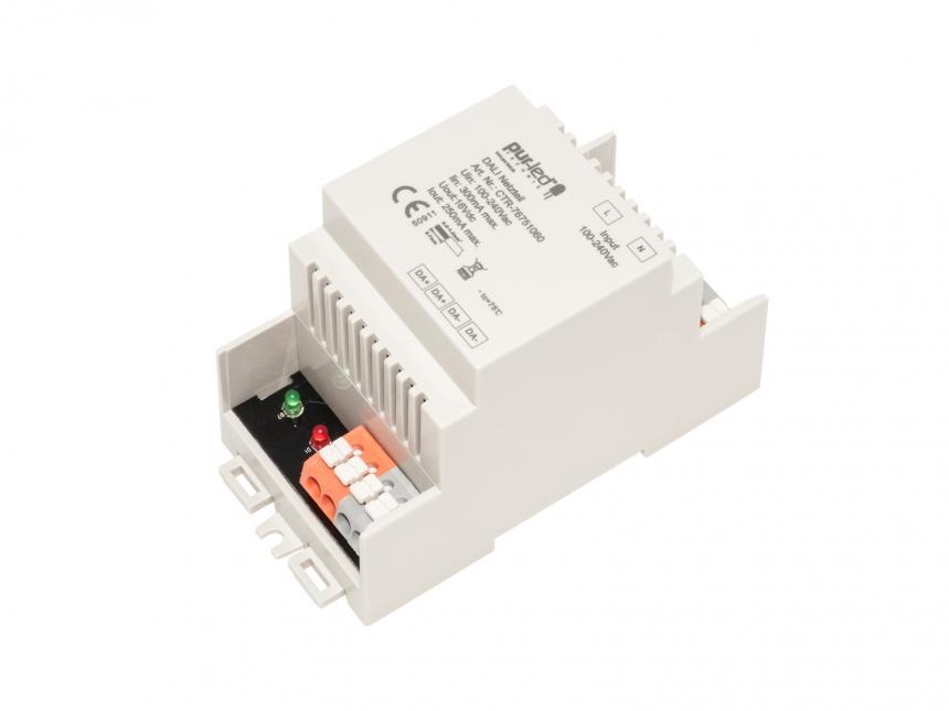 DALI Netzteil /Stromversorgung 250mA für DIN Hutschienenmontage