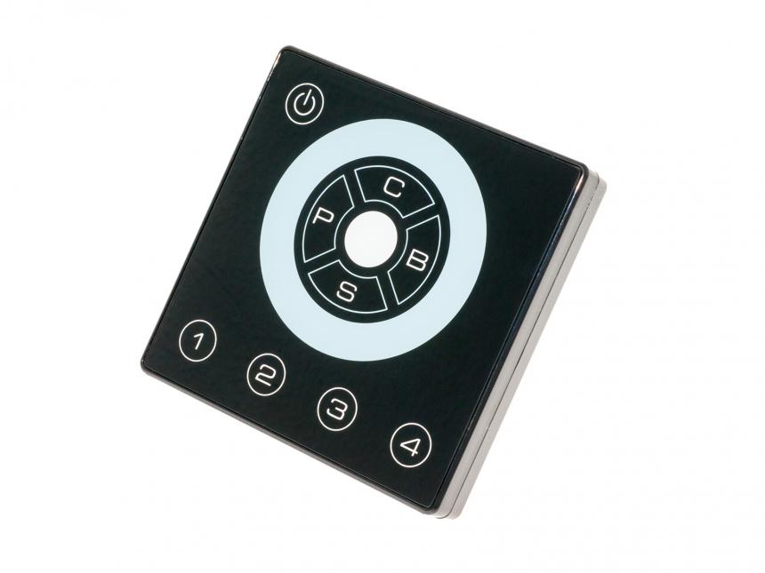LED RGB Wandsteuerung ART-4 12-24Vdc, mit PWM/DMX Ausgang