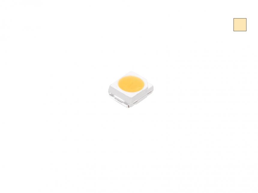 SMD LED PLCC2 warmweiß 950mcd max. TOPLED