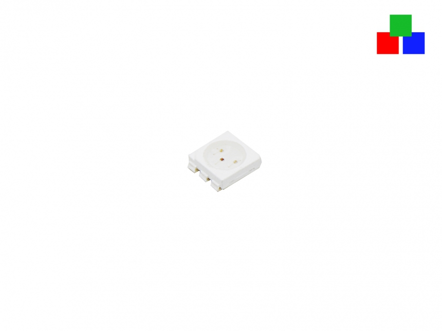 SMD LED PLCC6 RGB Fullcolor 3-CHIP 5060 ca. 5 Lumen