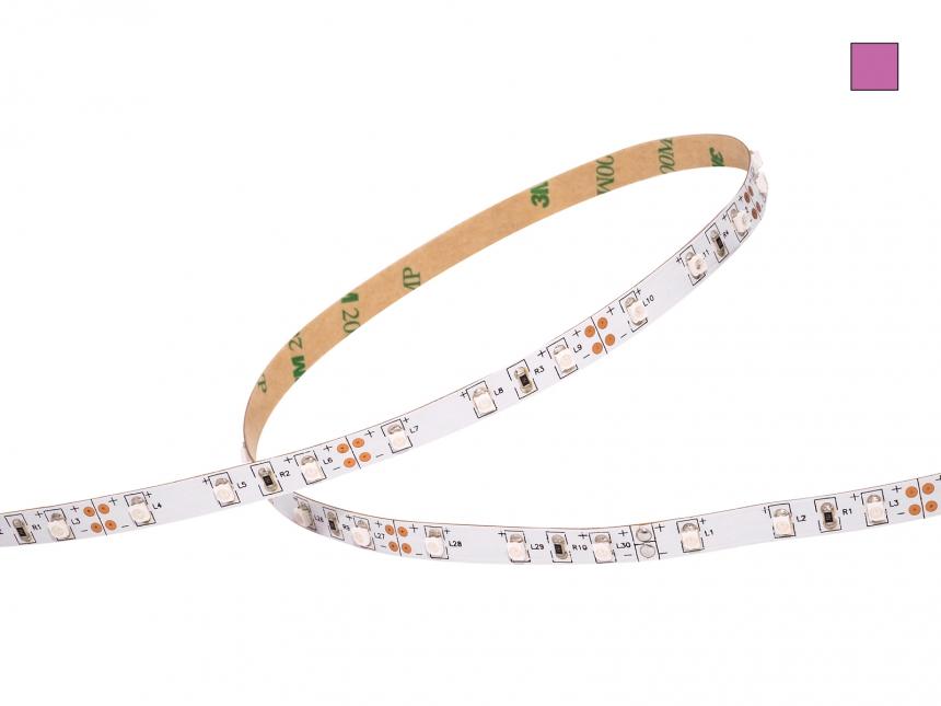 LED Stripe UV ca.420nm 12Vdc 4W/m 60LEDs/m 5,0m