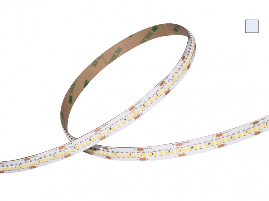 LED Stripe kaltweiß 24Vdc 15W/m 1450lm/m 238LEDs/m HD Line