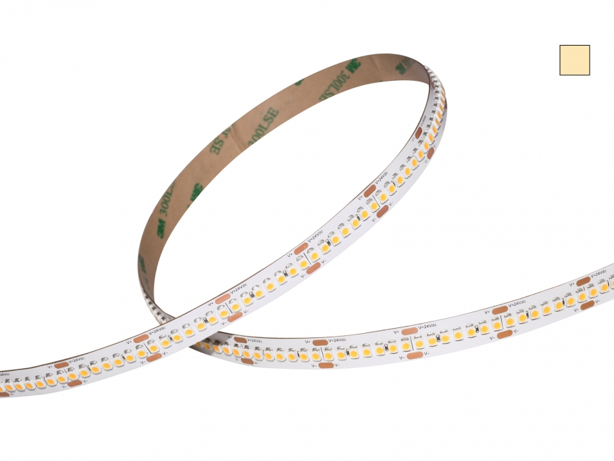 LED Stripe warmweiß 24Vdc 15W/m 1440lm/m 238LEDs/m HD Line 5,0m
