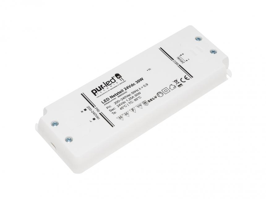 LED Netzteil 24Vdc 30W 1,25A Indoor