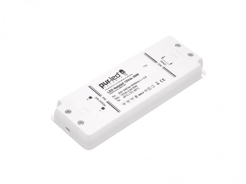 LED Netzteil 12Vdc 50W 4,16A Indoor