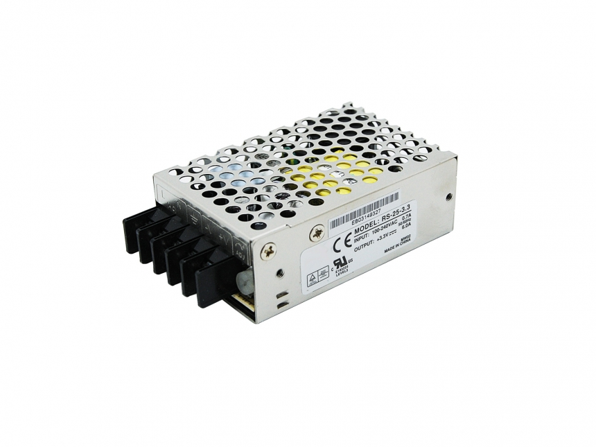 Metallgehäuse Netzteil 3Vdc +/- 10% 20W 6A Indoor