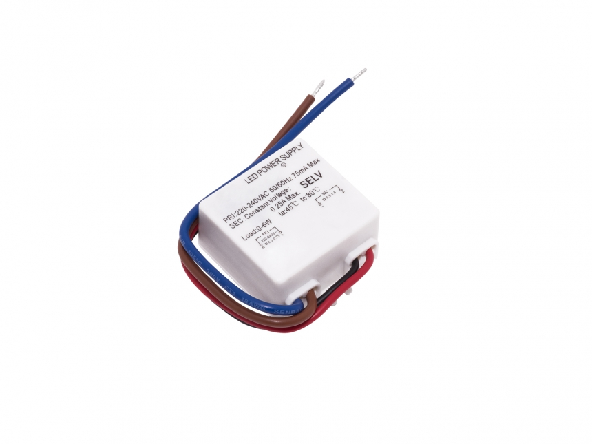 LED Netzteil 24Vdc 9W 0,375A mini Indoor