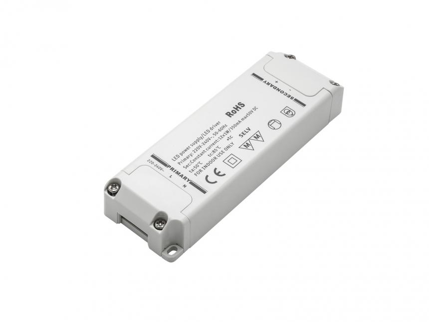 LED-Konverter 240Vac 350mA 12W MM-Zeichen SELV