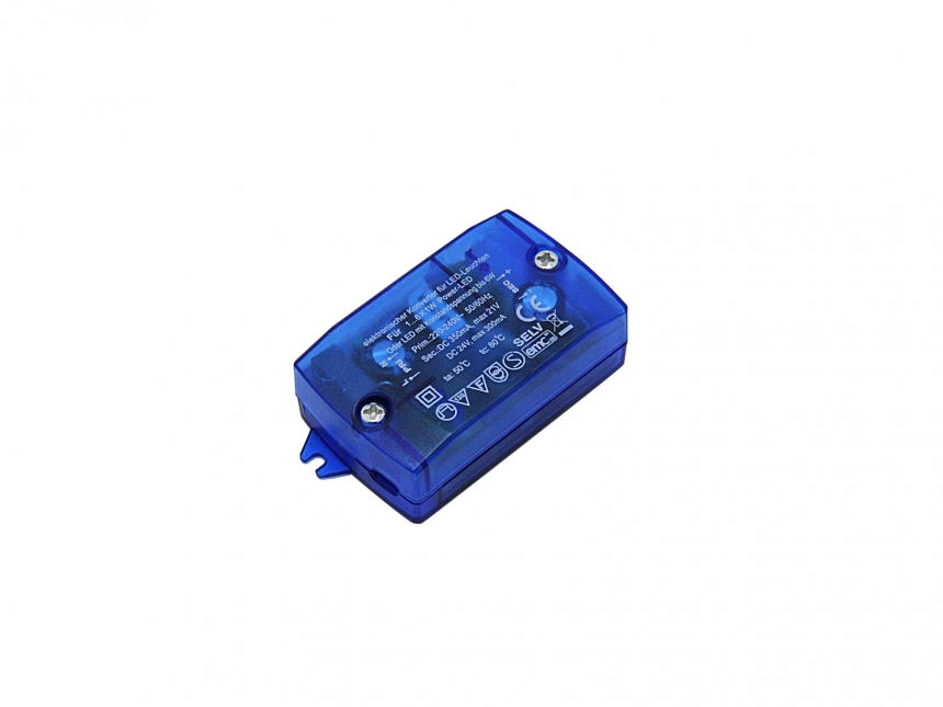 LED-Konverter 240Vac 350mA 6W max 3-21Vdc F-Zeichen SELV