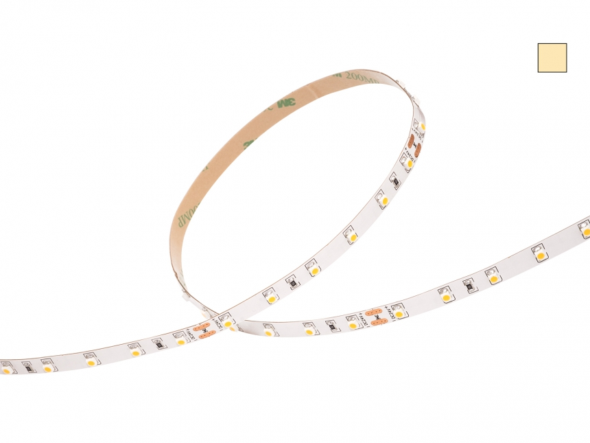 LED Stripe warmweiß 24Vdc 4,5W/m 390lm/m 60LEDs/m 1CHIP