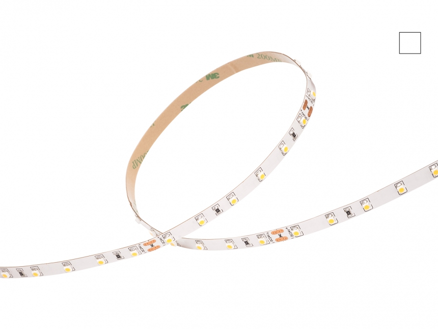 LED Stripe neutralweiß 24Vdc 4,5W/m 390lm/m 60LEDs/m 1CHIP 5,0m