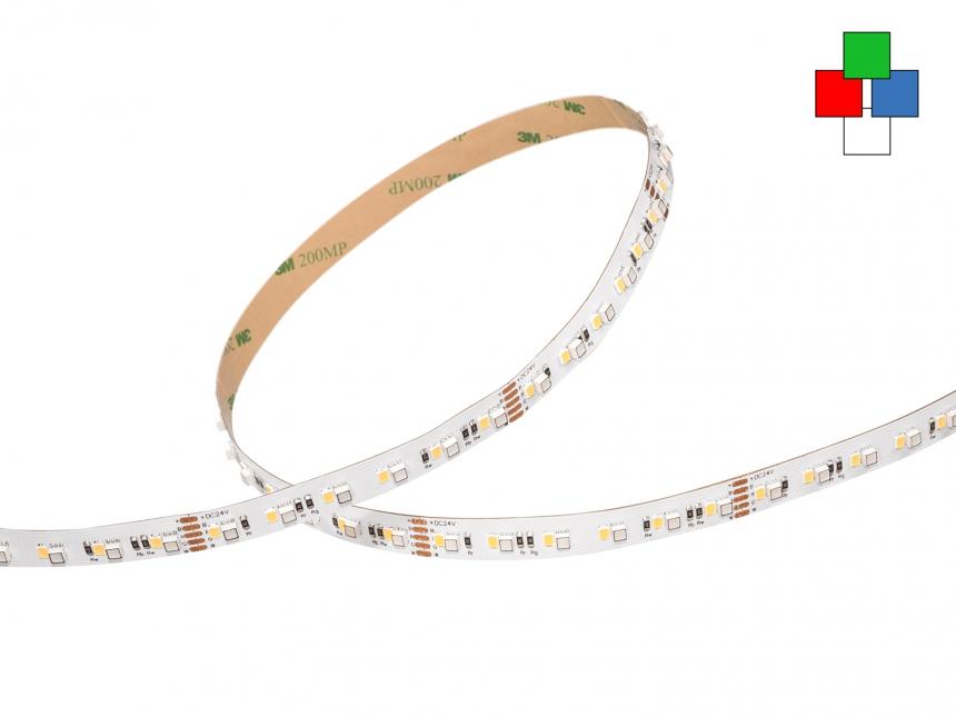 LED Stripe RGB-NW 24Vdc 30W/m 1616lm/m 144LEDs/m 4-Kanal 5,0m