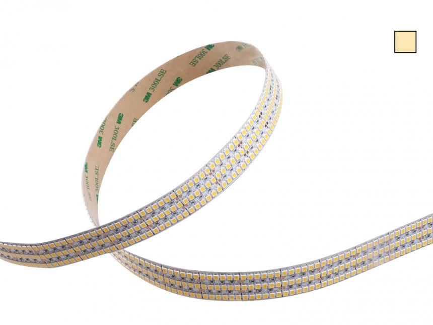 LED Stripe warmweiß 24Vdc 50W/m 4300lm/m 792LEDs/m XL 5,0m