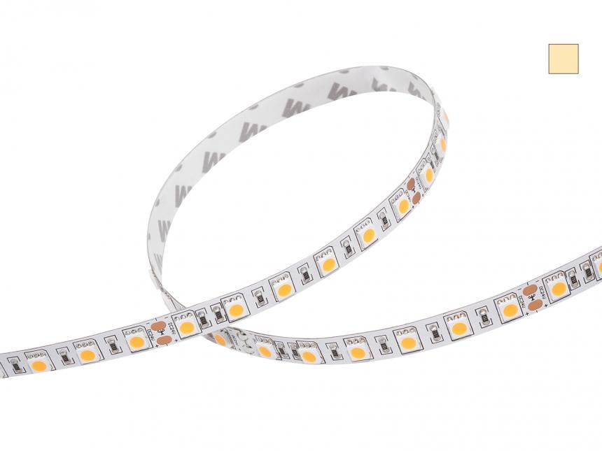 LED Stripe warmweiß Comf 24Vdc 17W/m 1090lm/m 72LEDs/m 2,0m