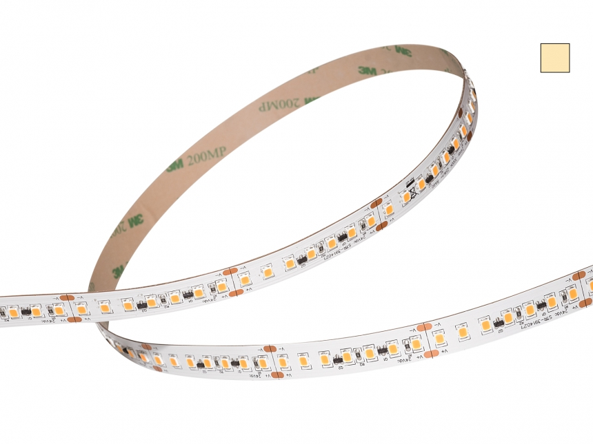 LED Stripe warmweiß Comf 24Vdc 25W/m 2250lm/m 140LEDs/m 1C 3,0m