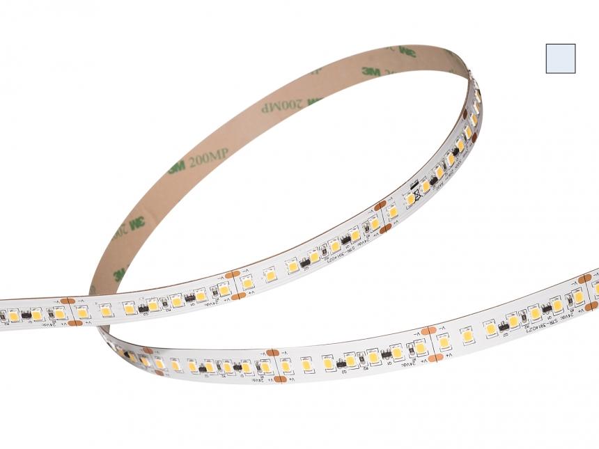 LED Stripe kaltweiß 24Vdc 25W/m 2300lm/m 140LEDs/m 1C 4,0m