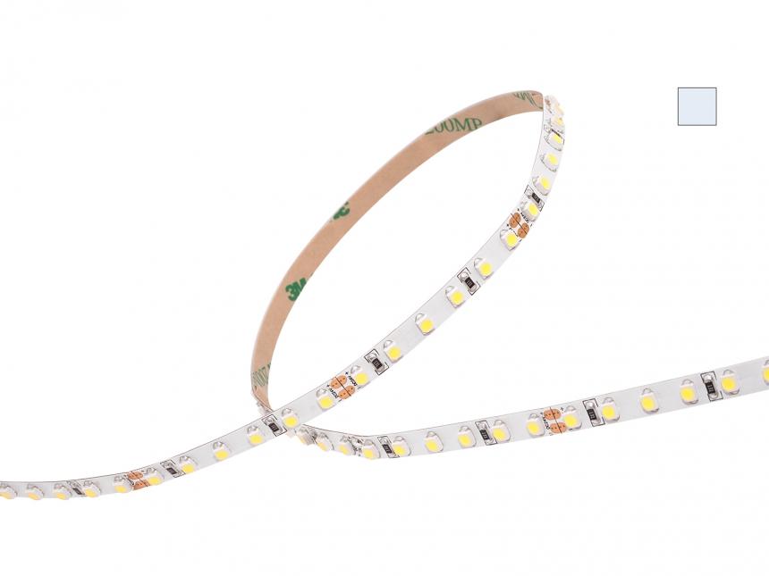 LED Stripe kaltweiß 24Vdc 8W/m 790lm/m 120LEDs/m Slim 4,0m