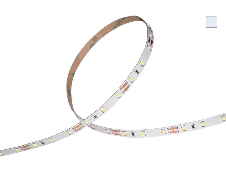 LED Stripe kaltweiß 12Vdc 12W/m 1200lm/m 60LEDs/m 5,0m