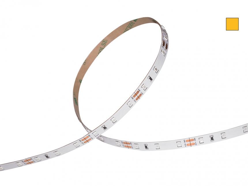 LED Stripe ambergelb 12Vdc 12W/m 215lm/m 60LEDs/m 1CHIP 5,0m