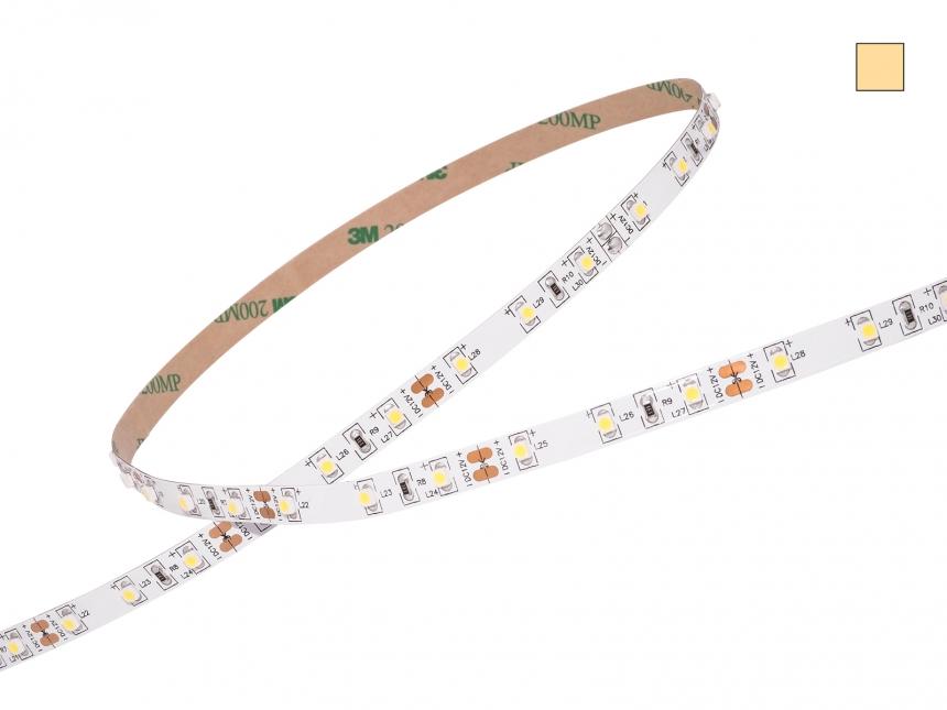 LED Stripe warmweiß 12Vdc 4,5W/m 330lm/m 60LEDs/m CRI90 2,0m