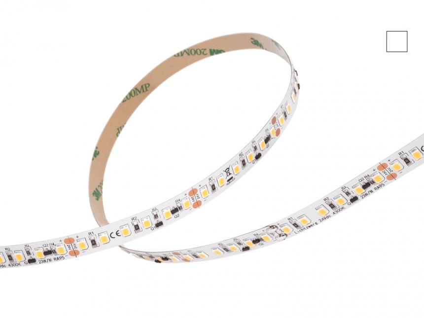 LED Stripe neutralweiß 24Vdc 23W/m 1850lm/m 120LEDs/m 1C 4,0m